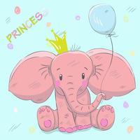 Schattige babyolifant