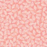 bladpatroon op roze vector