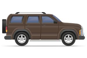 SUV auto vectorillustratie vector