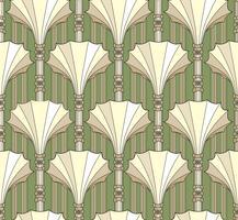 Abstract patroon in retro stijl. Geometrische naadloze gestructureerde vintage achtergrond. vector