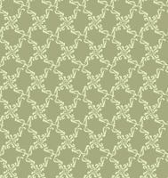 Bloemen geometrisch patroon. retro oosters bloeien ornament.