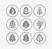 Bomen pictogrammen