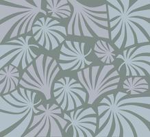Tropcal verlaat naadloos patroon. Mooie bloemenbladachtergrond.