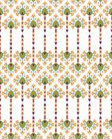 Abstracte bloemen naadloze textuur. Stijlvol oosters bloempatroon