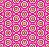 Naadloze roze patroonachtergrond met gestileerde paraplu vector