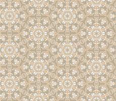Abstract oosters bloemen naadloos patroon. Bloem mozaïek ornament