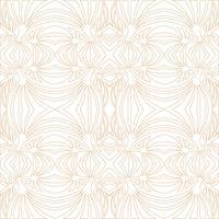 Bloemen geometrisch patroon. retro oosters bloeien ornament. vector
