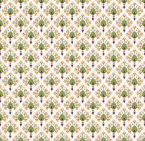 Abstracte bloemen naadloze textuur. Stijlvol oosters bloempatroon vector