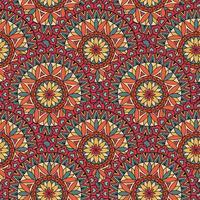 Abstract mozaïek tegel patroon. Oosters geometrisch cirkelornament