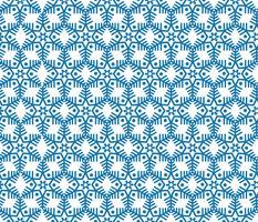 Sneeuwvlok tegel patroon Winter vakantie sieraad geometrische textuur