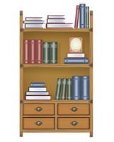 Vector boekenkast