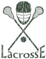 lacrosse sport concept vectorillustratie