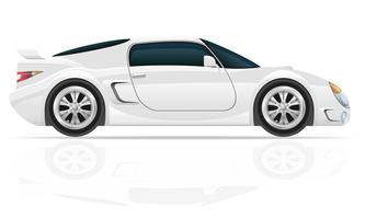 sportwagen vectorillustratie