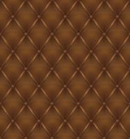 bruine lederen bekleding naadloze achtergrond vector