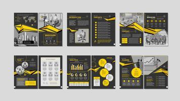 Brochure creatief ontwerp.
