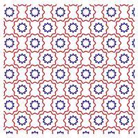 Afgerond patroonontwerp voor iedereen vector