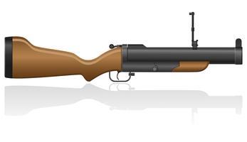 granaat-kanon vectorillustratie