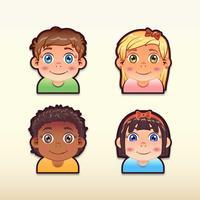Kinderen tekenset