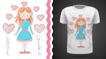 kleine prinses - idee voor print t-shirt