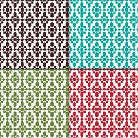 naadloze Marokkaanse geometrische patronen vector
