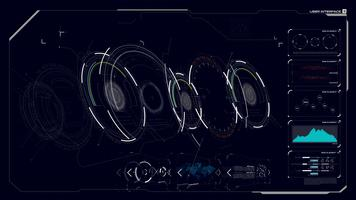 hud gui interface 003 vector