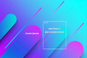 kleurrijke abstracte geometrische met donkerblauwe en roze dekking en behangachtergrond