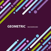 kleurrijke abstracte geometrische achtergrond behang