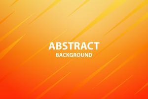 zacht en donkeroranje met gele abstracte achtergrond, vector