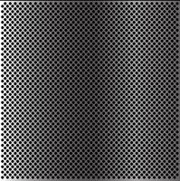 Abstracte van het het netwerkpatroon van de metaalcirkel behang als achtergrond textuur vectorillustratie.