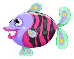 Een mooie vis vector