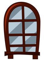 Ouderwetse stijl van raam