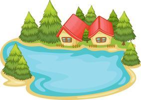 Natuur hutten