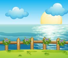 Een uitzicht op de oceaan