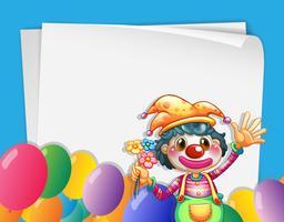 clown banner