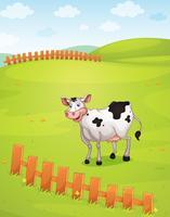 Een koe vector