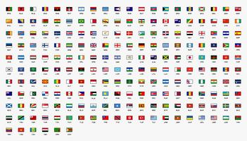 Country Flags of the World Ontworpen in 30x20 pixels.