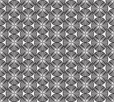 Naadloos geometrisch patroon Abstract bloemenornament. Oosterse textuur
