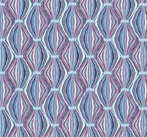 Abstract naadloos patroon Lijn ornament Werveling oosterse textuur