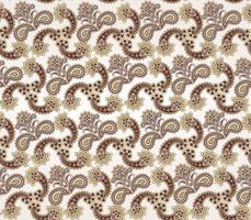 Naadloze bloemmotief. Oosterse textuur. Bloem ornament
