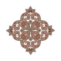 Arabische ornamentachtergrond Oosterse etnische mandalamulet.