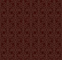 Oosterse lijnpatroon Abstract floral ornament Swirl weefsel achtergrond