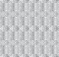 Abstract naadloos patroon. Retro swirl lijn ornament. vector