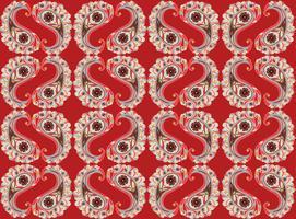 Bloemen naadloze achtergrond. Oosters ornament. Bloem patroon. vector