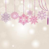 Sneeuw onscherpte patroon. Kerst winter vakantie besneeuwde aard achtergrond vector
