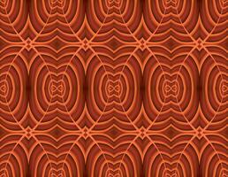 Abstract bloemenornament. Geometrisch lijn naadloos patroon