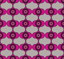 Naadloze achtergrondcirkels. Stijlvol geometrisch ornament vector