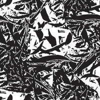 Abstract bloemen naadloos patroon. Laat gebladerte textuur vector