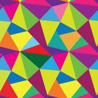 Abstract naadloos patroon. Geometrische mozaïekachtergrond vector