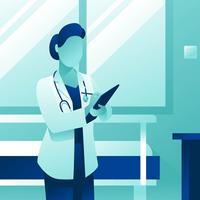 Vrouwelijke arts Character