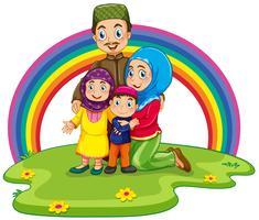 Moslim gezin